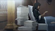 К4х02 Корра читает письма от своих друзей