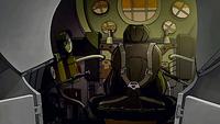 Mecha tank's cockpit