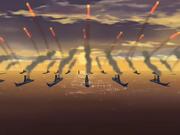 Armada de la Nación del Fuego atacando