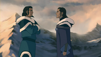 Unalaq discutiendo con Tonraq