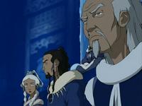 Pakku, Arnook y Yue