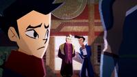 Shady Shin convincing Mako