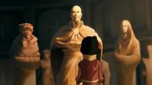 К2х03 Джинора статуя Аанга