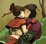 Kori küsst Sneers