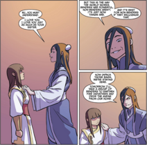 Liling tells Ru how benders are naturally more powerful