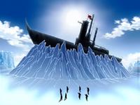 Waterbenders wreck ship