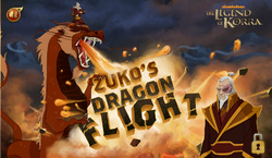 Zuko's Dragon Flight заставка