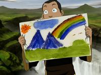 Sokka's painting