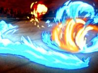Zuko fights Azula