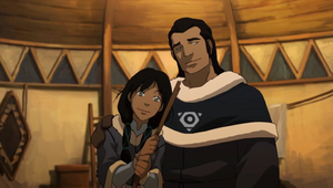 Korra's ouders