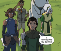 Kuvira welcomes Suyin