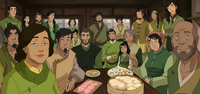 Mako and Bolin's extended family