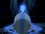 Aang spricht mit Yangchen