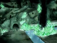 Casas en las Catacumbas de Cristal