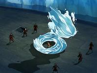 Fight on Zuko's ship