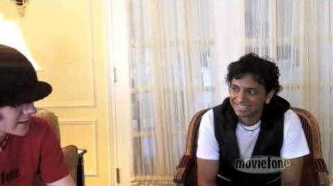 Interview with M. Night Shyamalan about The Last Airbender