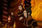 Azula, Ozai y Zuko