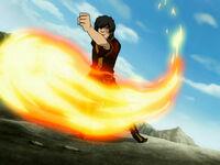3х18 Зуко магия огня