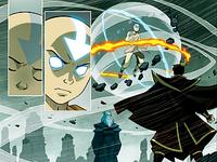 Aang and Zuko dream