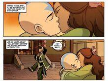 Комикс О1 поцелуй