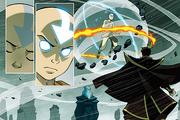 Sueño de Aang y Zuko