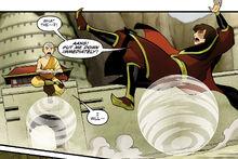 Комикс ДТ3 Зуко на воздушном самокате