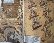 Комикс Ракушки Первые Воины Киоши