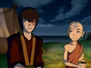 Zuko y Aang