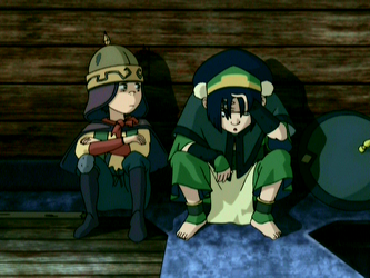 File:Toph and The Duke.png