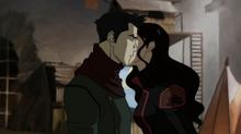 К1х11 Асами целует Мако