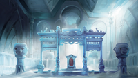 Northern Water Tribe throne room