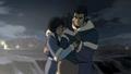 Korra and her parents hug.png