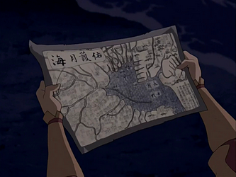 Rendezvous Map Avatar Wiki FANDOM Powered By Wikia - Avatar the last airbender us map
