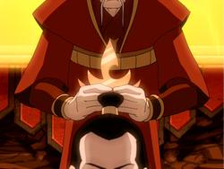 Ozai gekroond als vuurheer