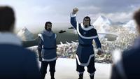Tonraq rallying his troops