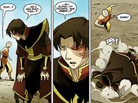 Zuko collapses
