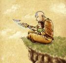Aang and Tenzin