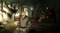The Red Lotus plots their escape