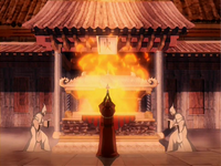 Azulon's cremation