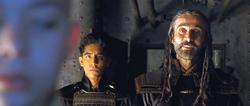 Film - Iroh tests Aang