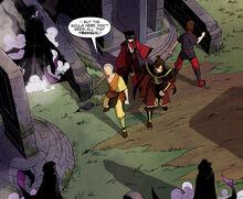 Комикс ДТ3 В окружении на кладбище