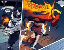 Комикс П1 Азула убегает от Зуко