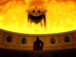 Ozai vraagt om de troon