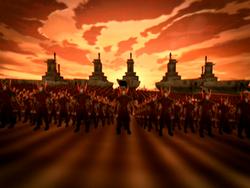 Vuurnatie soldaten