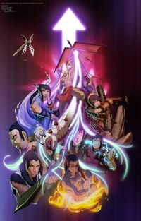 Avatar Season 4 poster COLORED by DarkKenjie