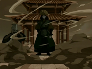 Kyoshi manifestándose