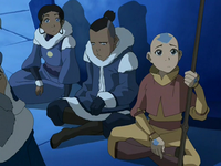 Team Avatar at North Pole