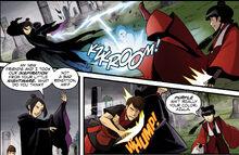 Комикс ДТ3 Азула против Мэй и Кей Ло