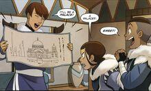 Комикс СЮ1 Малина и чертёж дворца