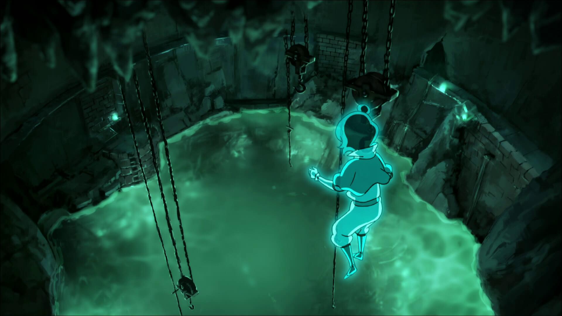 Jinoras Geist im Versteck der Dai Li